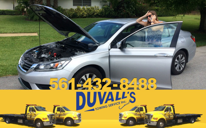 Shipping Containers with Duvall's Towing Service 561-432-8488