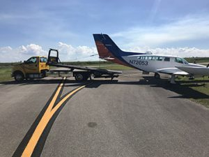 Airplane towing